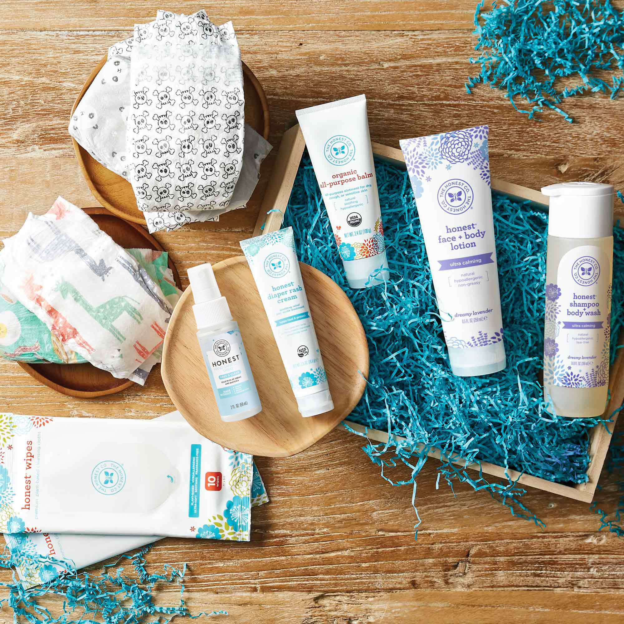 Baby Arrival Gift Set, Free + Clear Hand Sani Spray