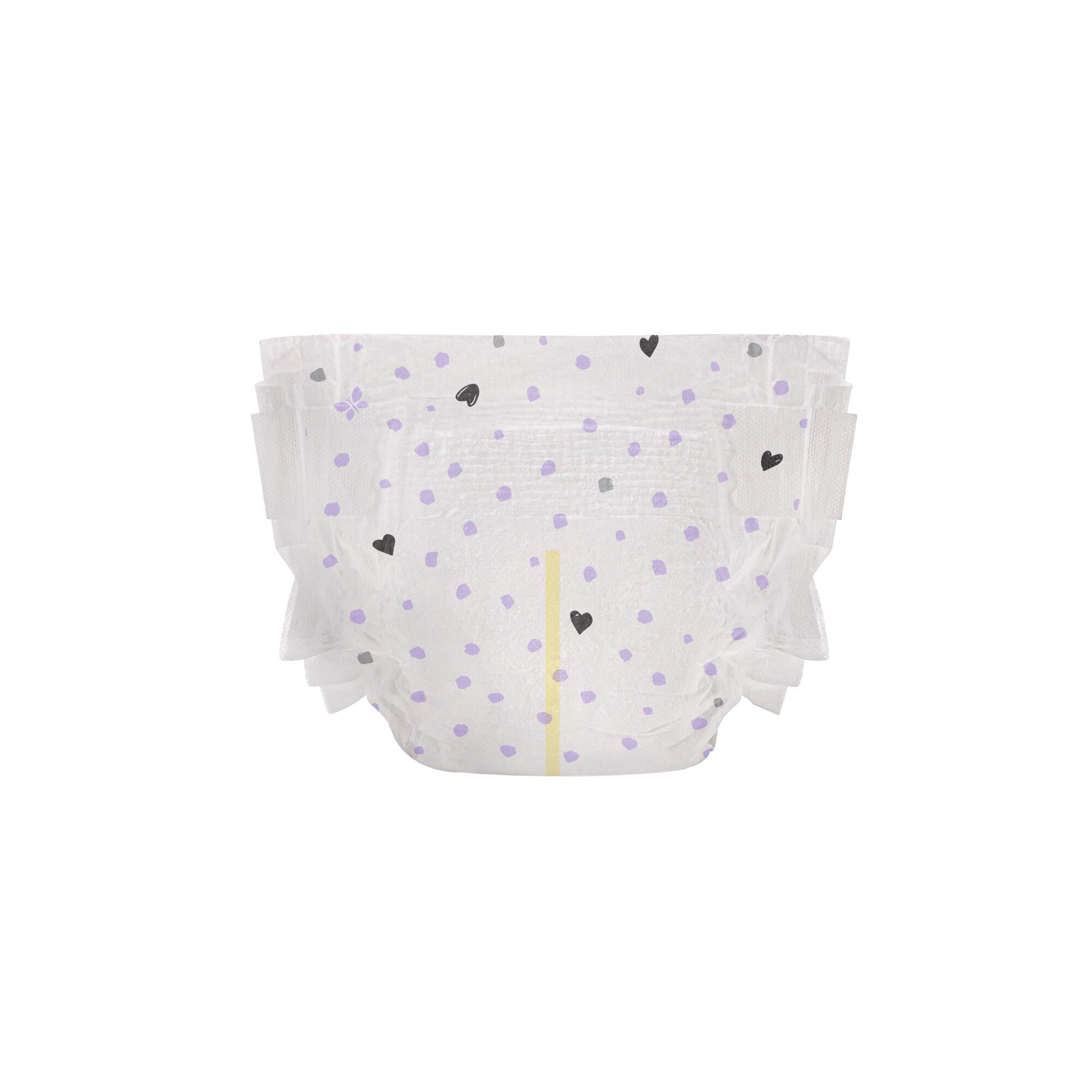 Clean Conscious Diaper, Young at Heart, Size 1