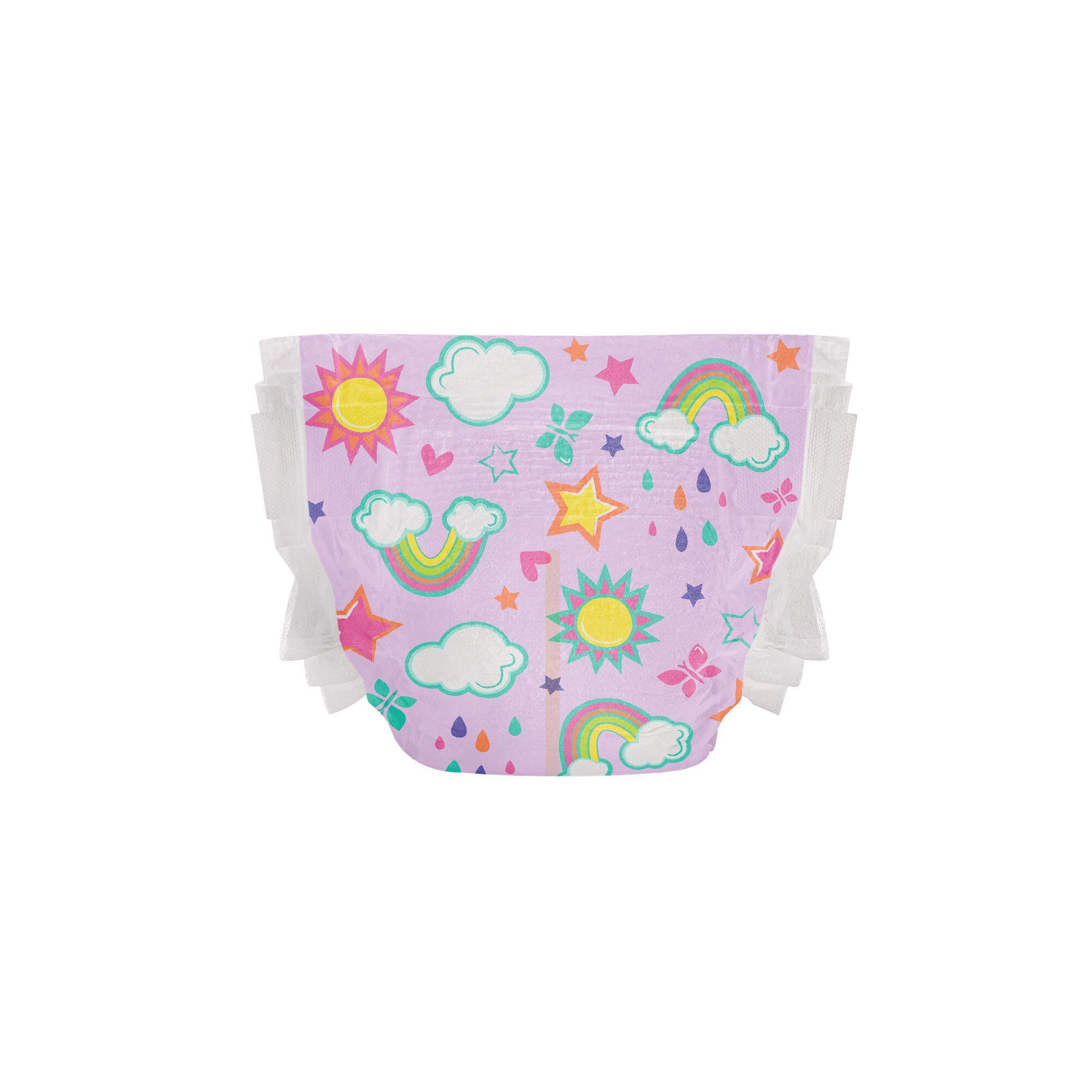 Clean Conscious Diaper, Skys the Limit, Size 5