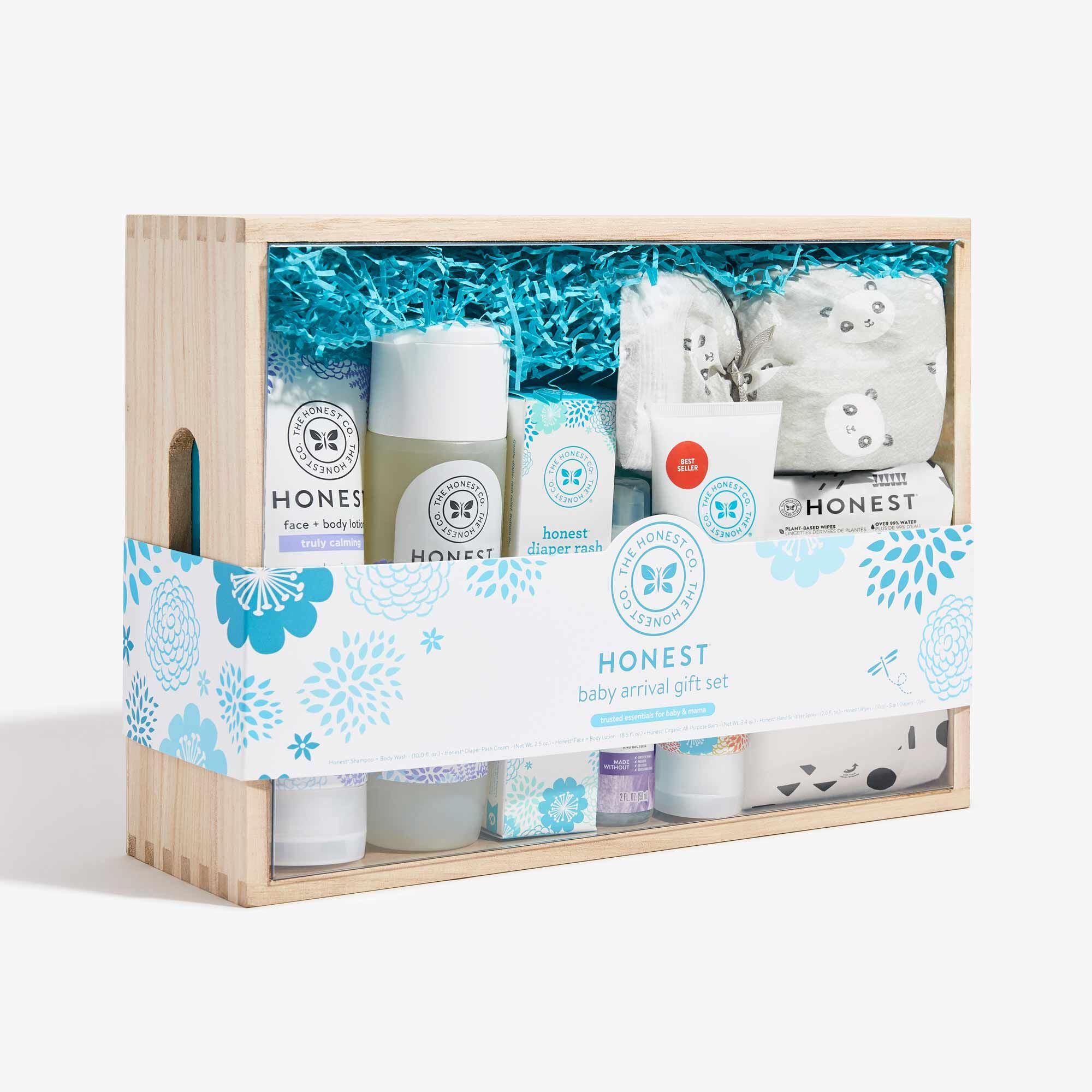 Baby Arrival Gift Set, Lavender Hand Sani Spray