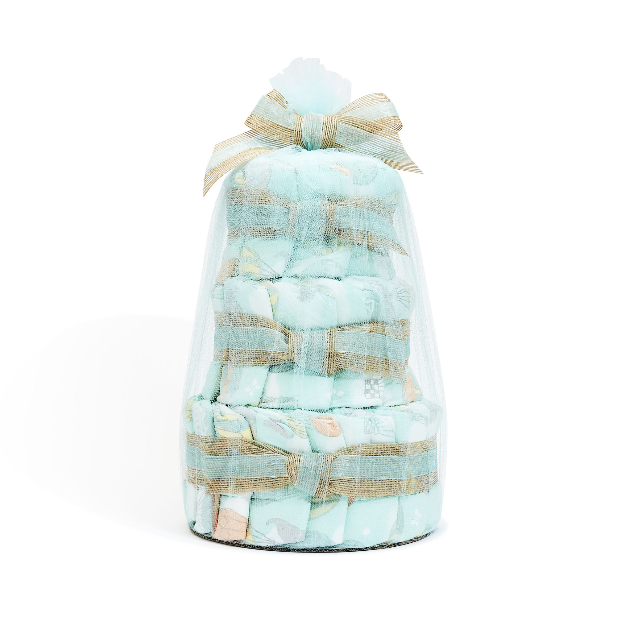 Mini Clean Conscious Diaper Cake, Above It All