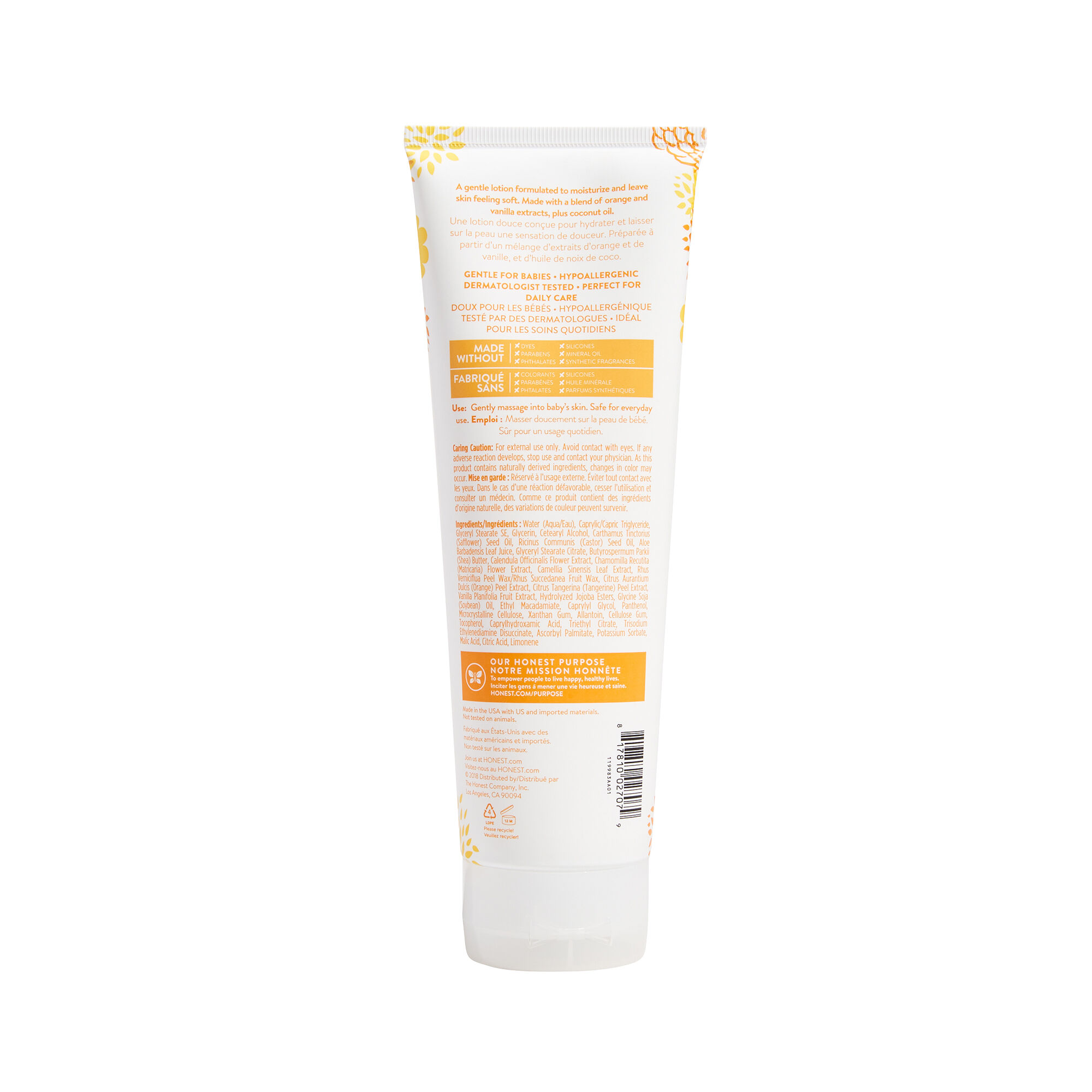 Face + Body Lotion - Everyday Gentle
