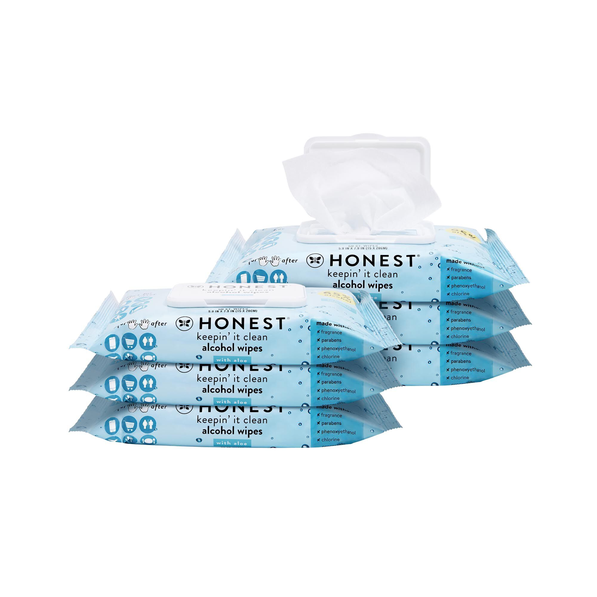 Sanitizing Alcohol Wipes, 300 Count
