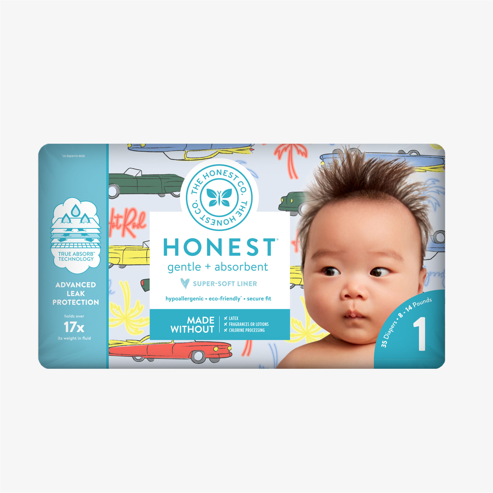 Honest Diaper Speedy Babe Polybag