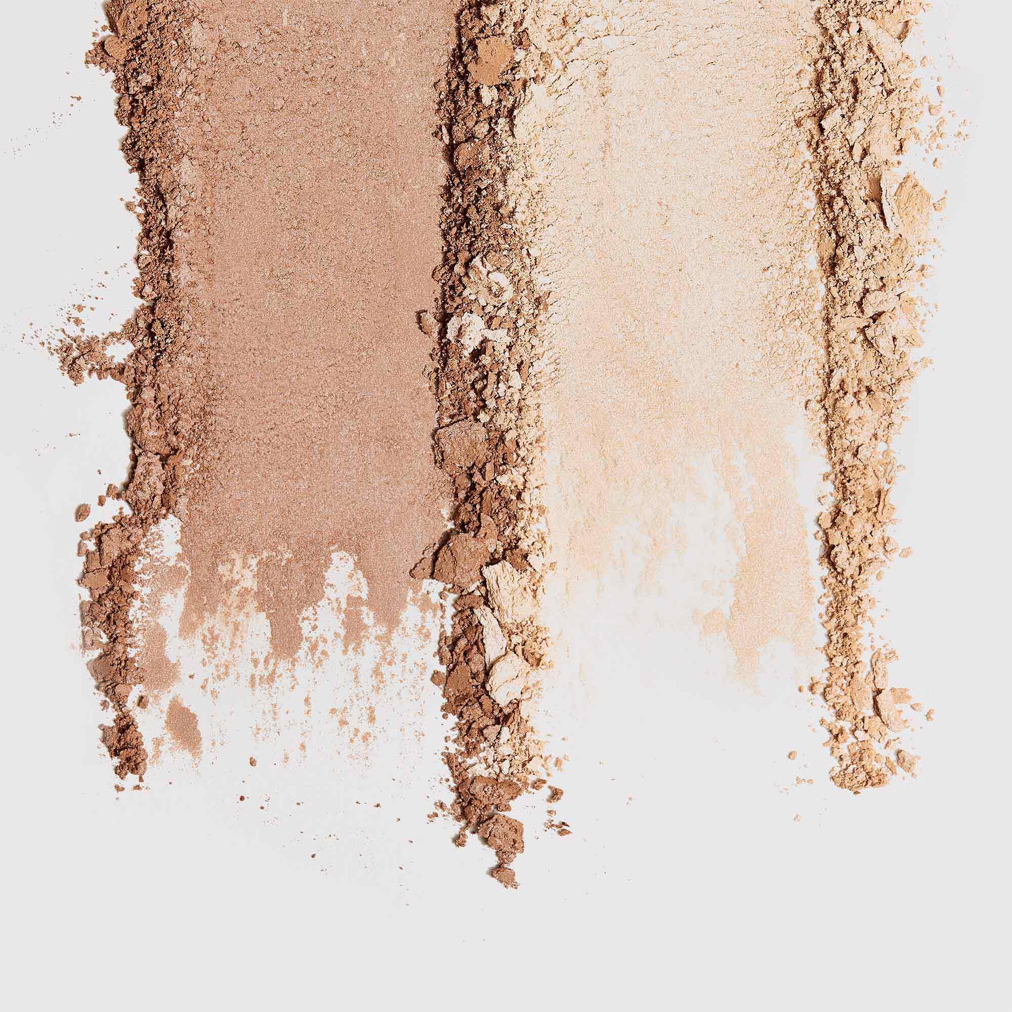 smears of powder