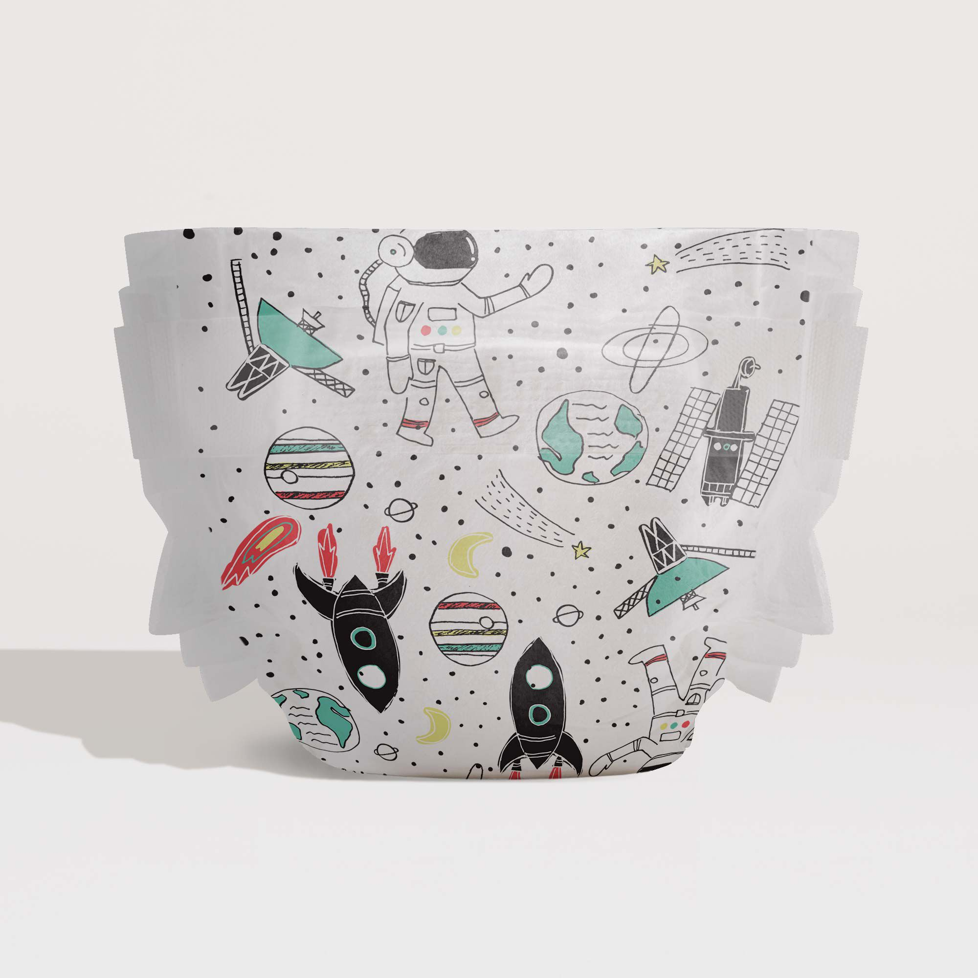 Diapers, Space Traveling, Size 5