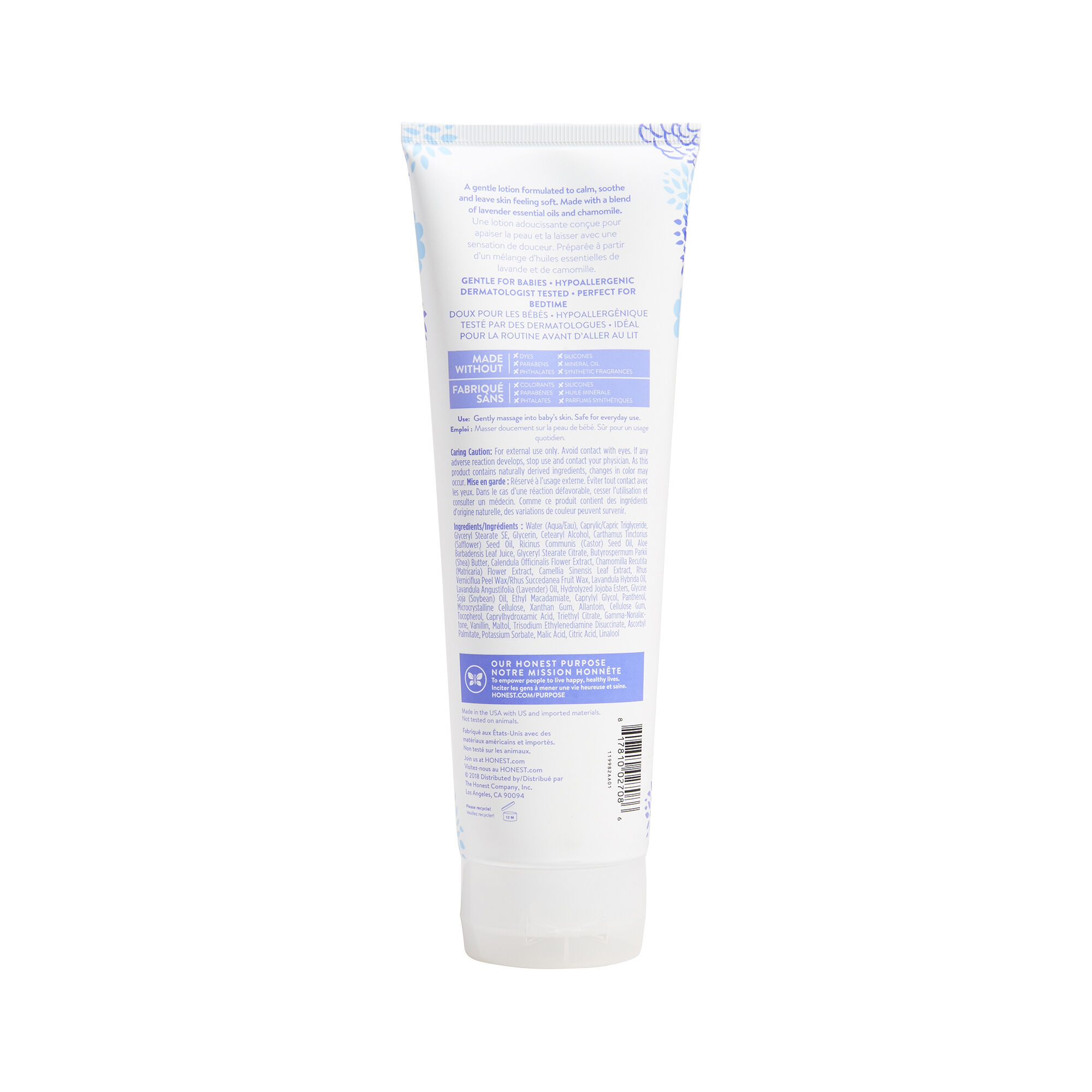 Face + Body Lotion - Truly Calming Lavender