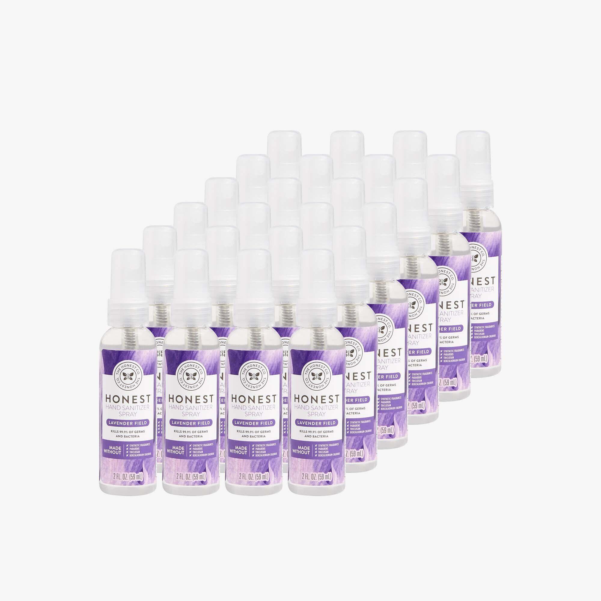Hand Sanitizer Spray, Lavender Field, 24-Pack