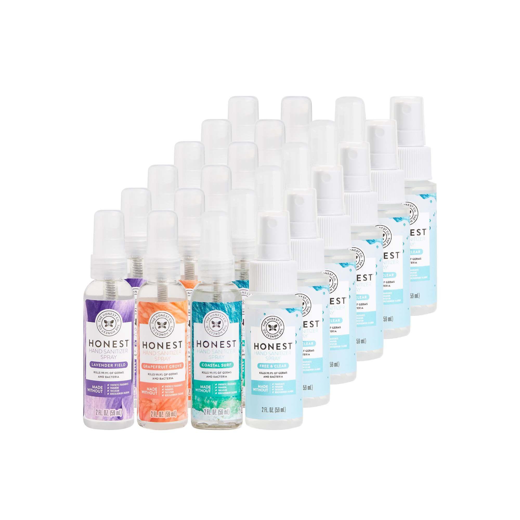 Hand Sanitizer Spray, Multi-Scent, 24-Pack