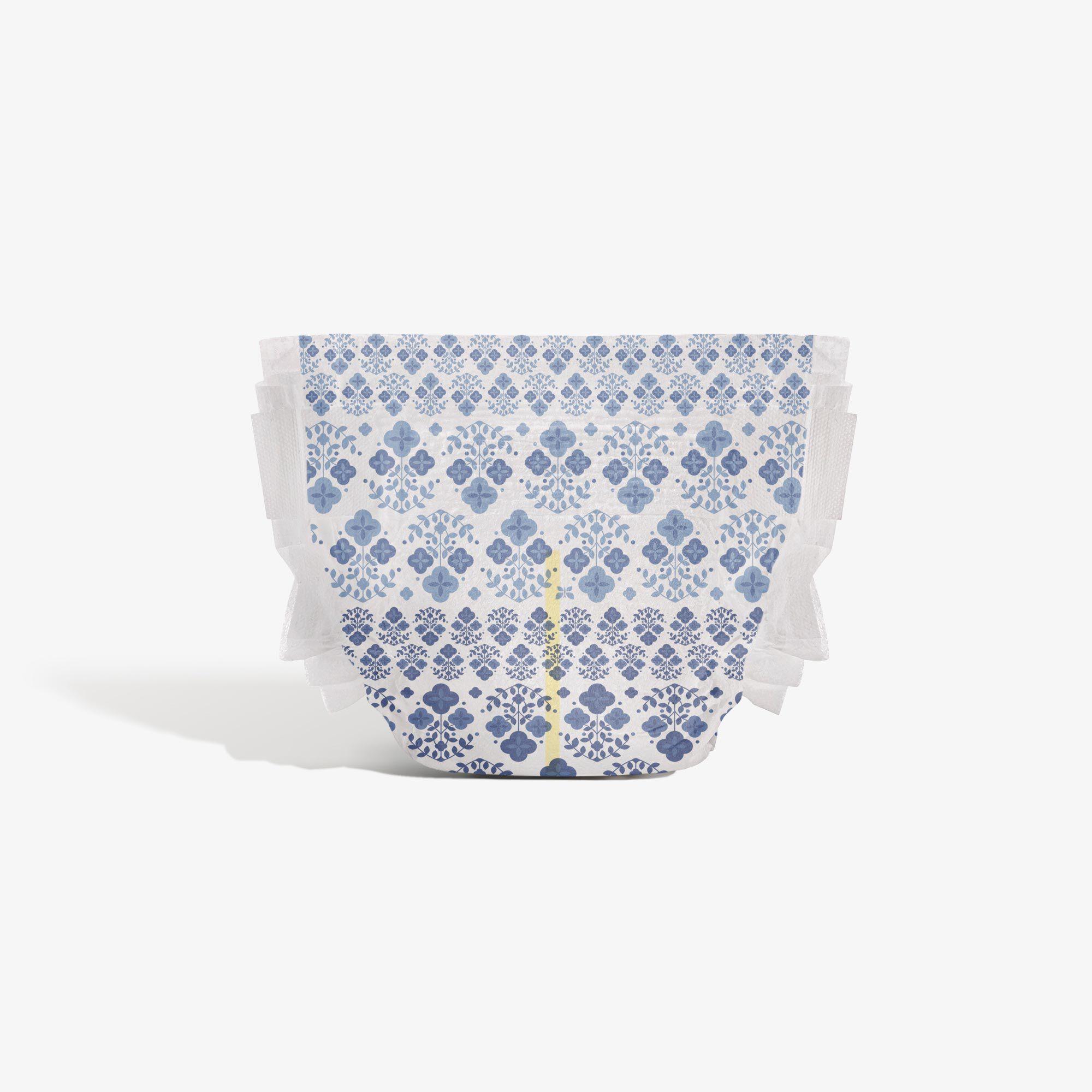 Clean Conscious Diaper, Vintage Vibes, Size 6