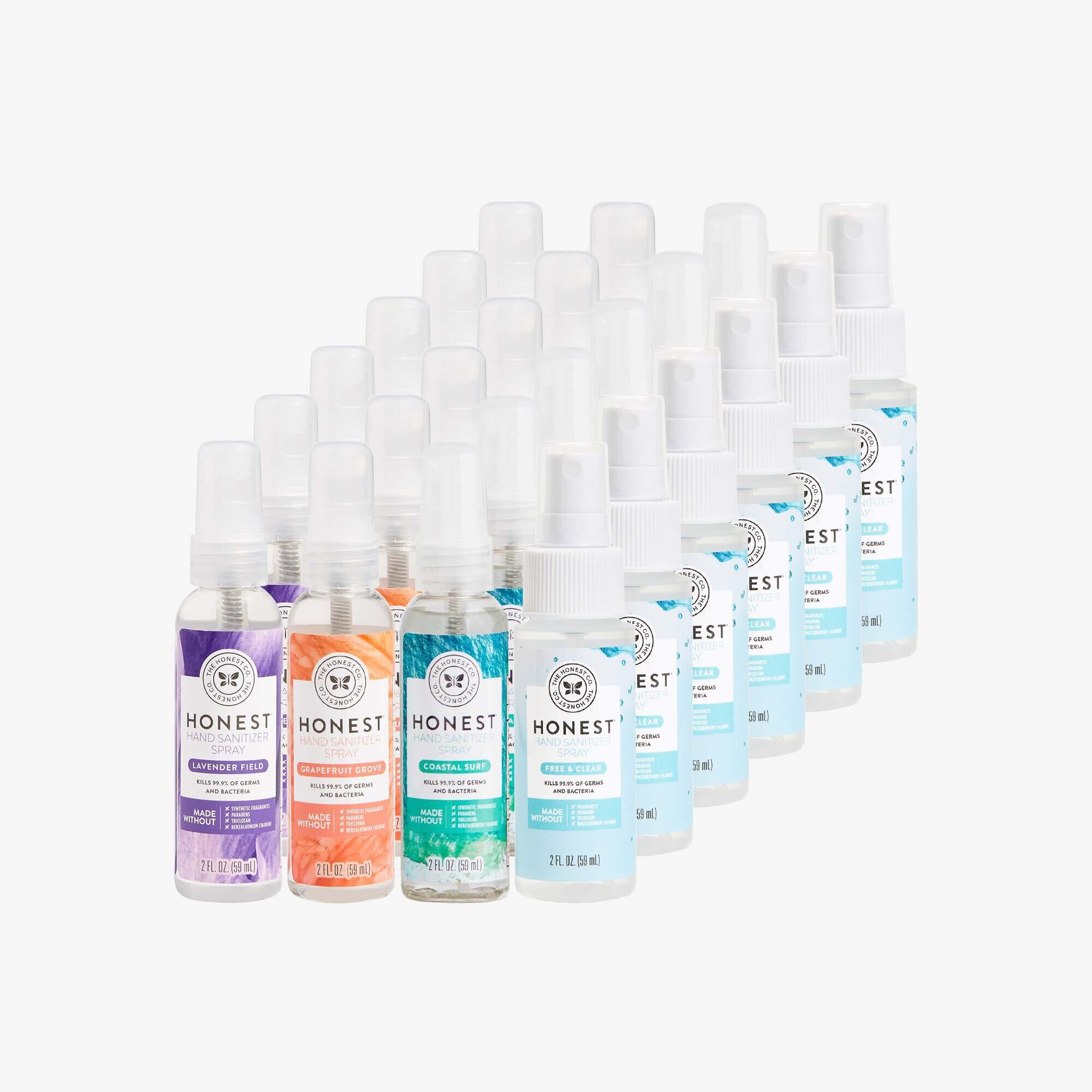 Hand Sanitizer Spray, Multi-Scent, 24-Pack