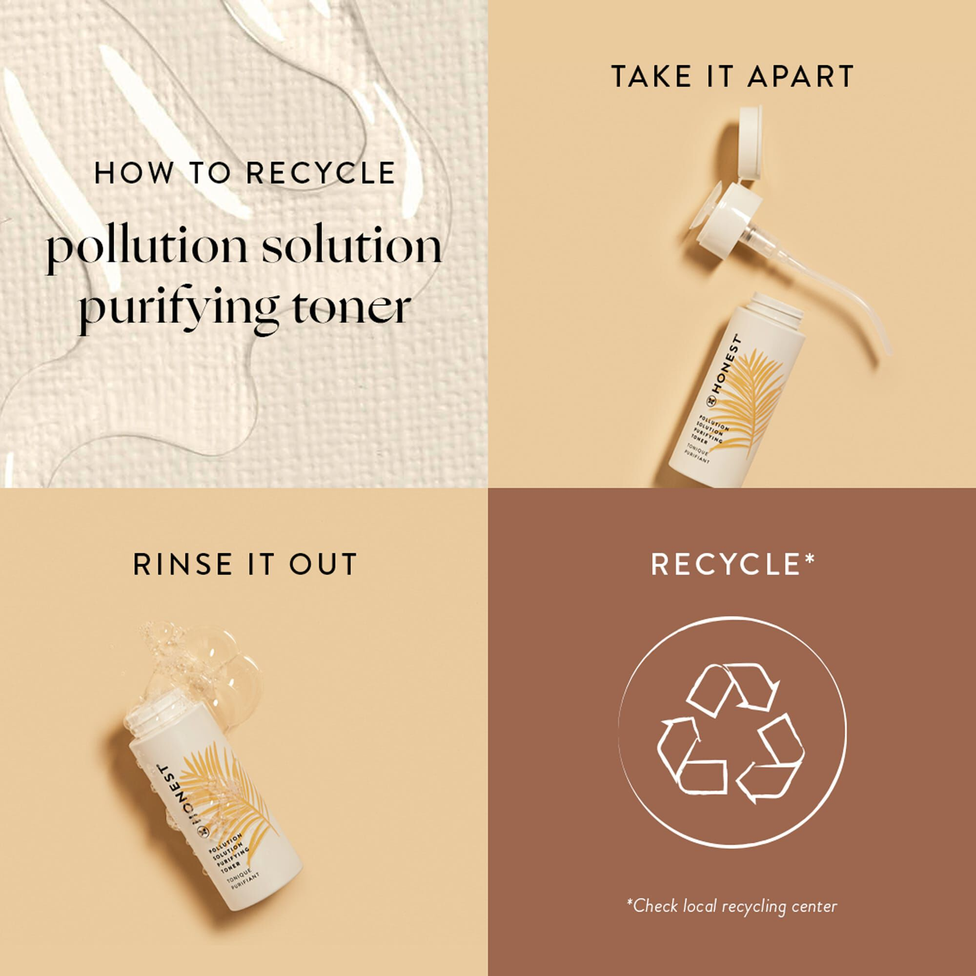 Pollution Solution Purifying Toner