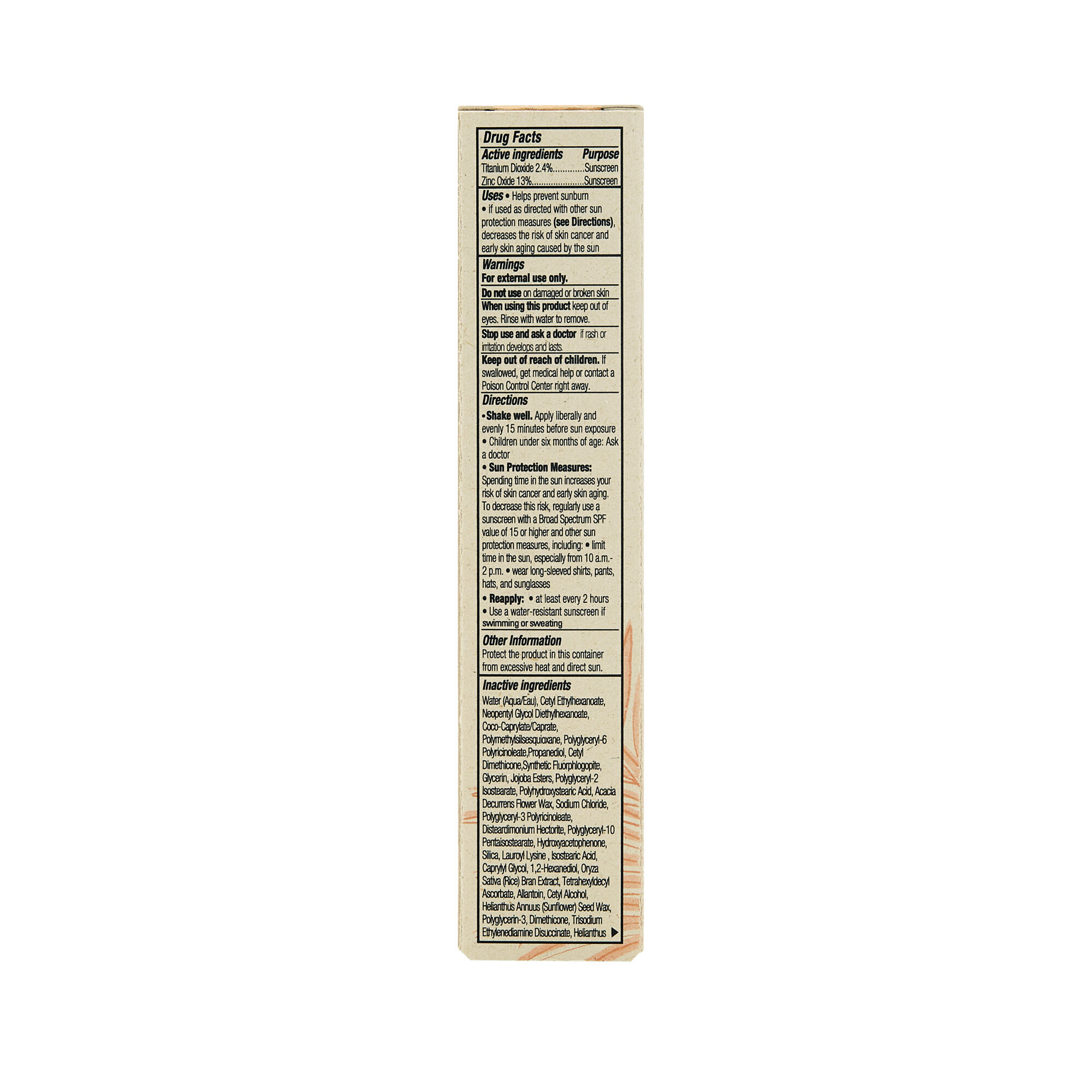 CCC Clean Corrective With Vitamin C Tinted Moisturizer Broad Spectrum SPF 30, Terra