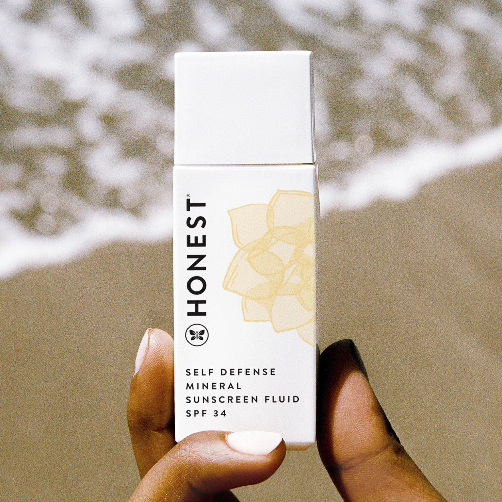 Self Defense Mineral Sunscreen Fluid SPF 34