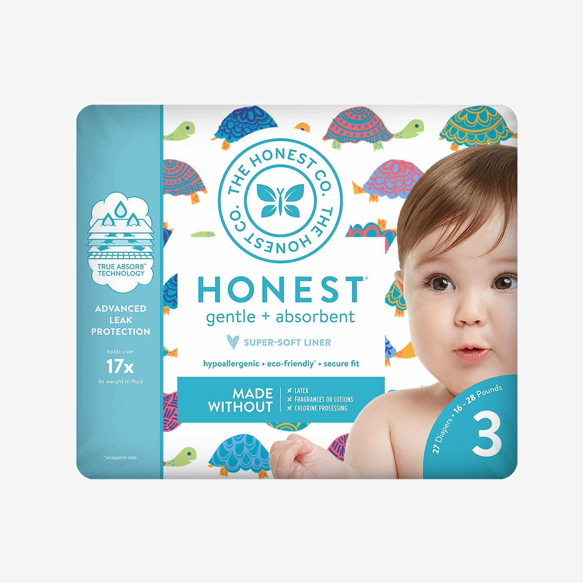 Diapers, Happy Together, Size 3