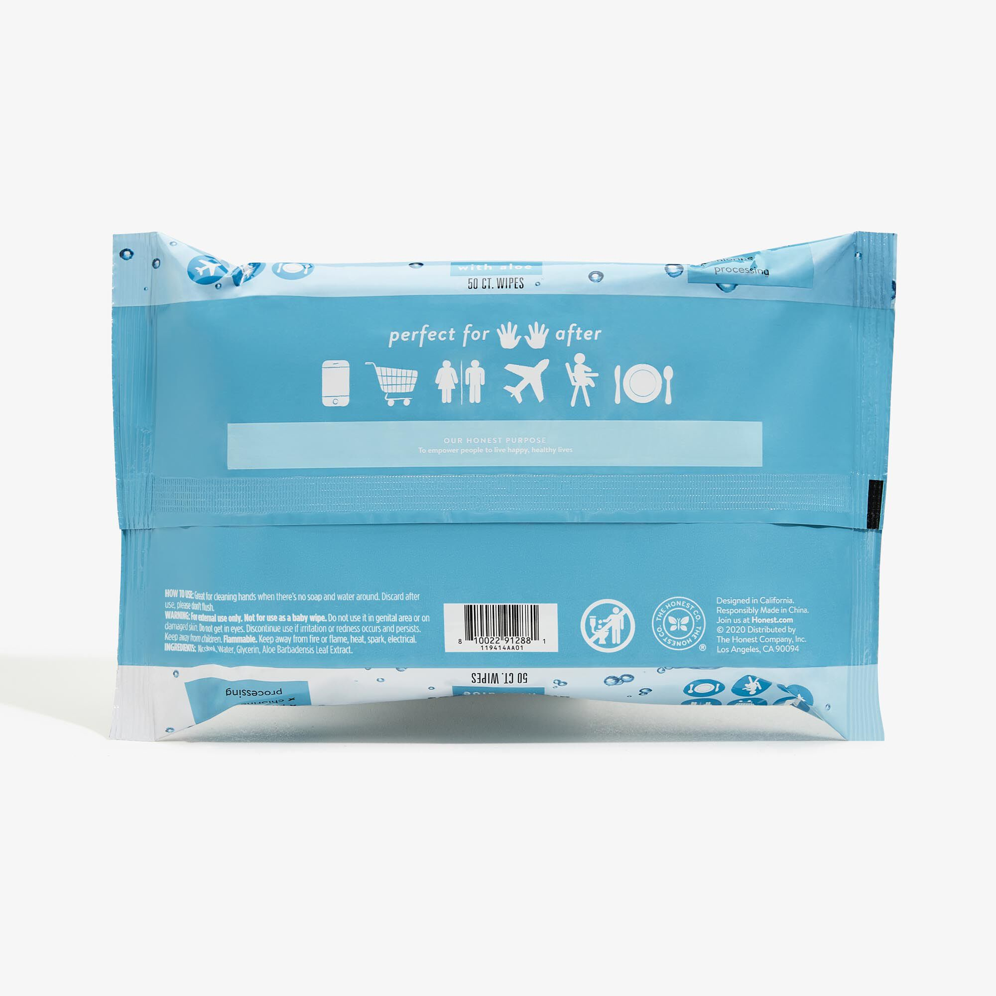Sanitizing Alcohol Wipes, 50 Count