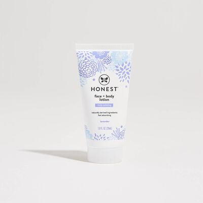 Face + Body Lotion, Travel Size, Truly Calming