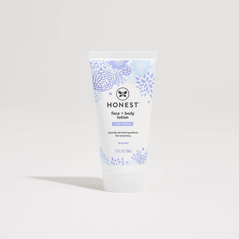 Truly Calming, Face + Body Lotion, Travel Size