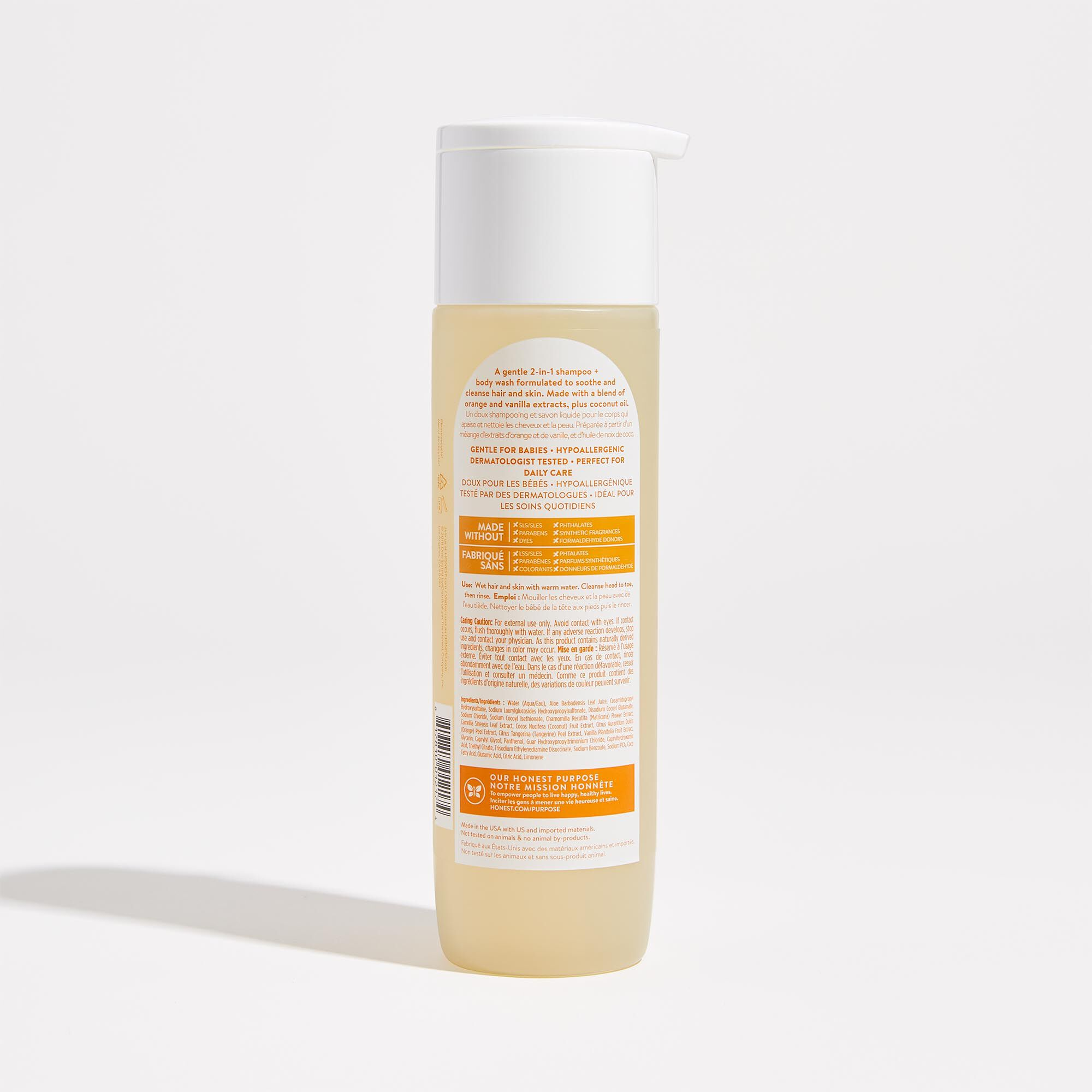 Everyday Gentle Shampoo Back of Product