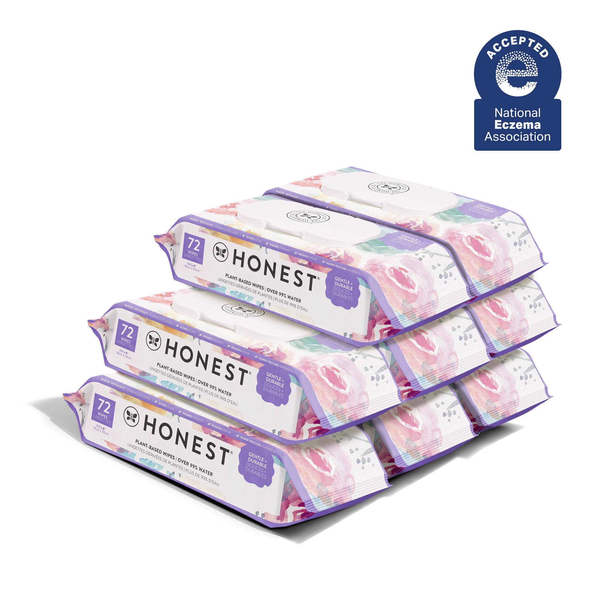 Rose Blossom, 576 Count Wipes