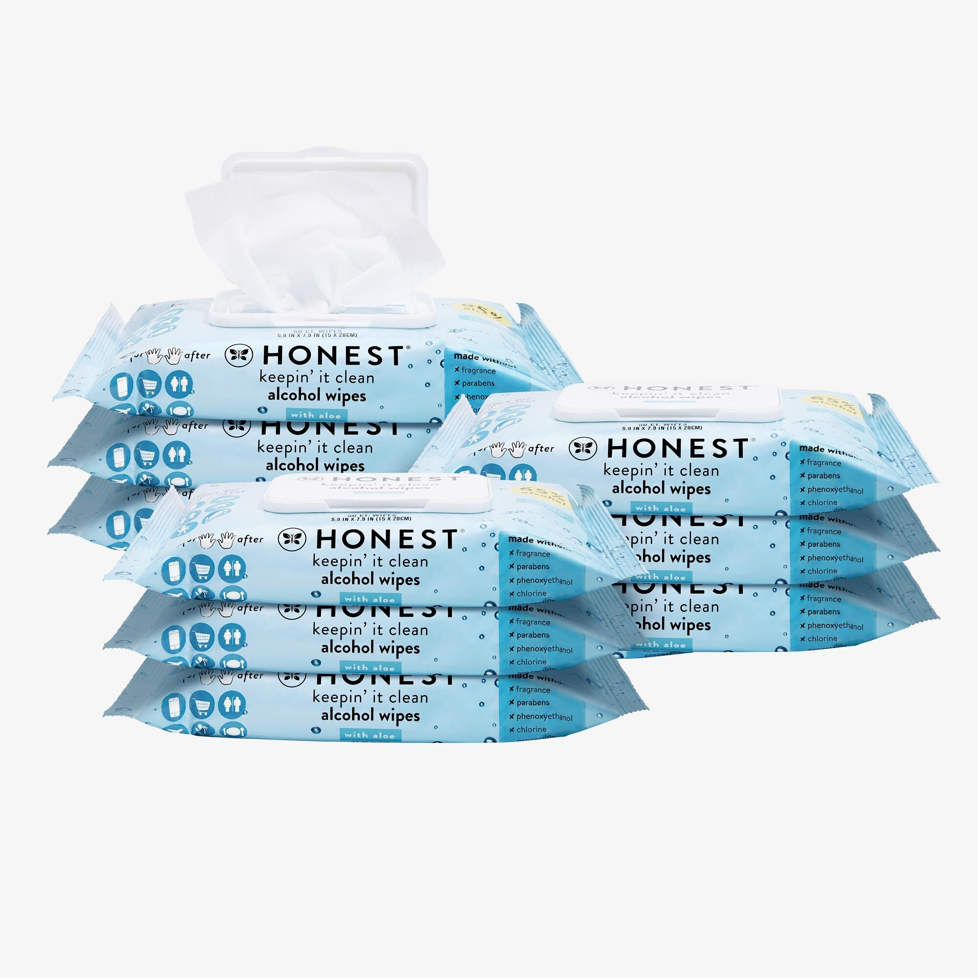 Alcohol Wipes, 450 Count