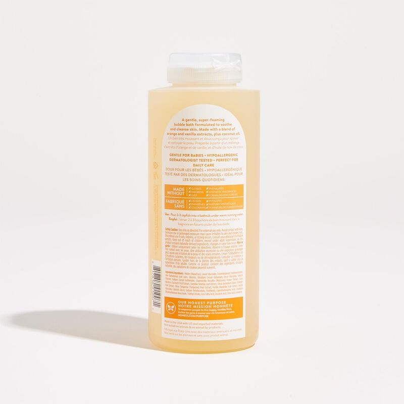 Everyday Gentle Shampoo Back of Bottle
