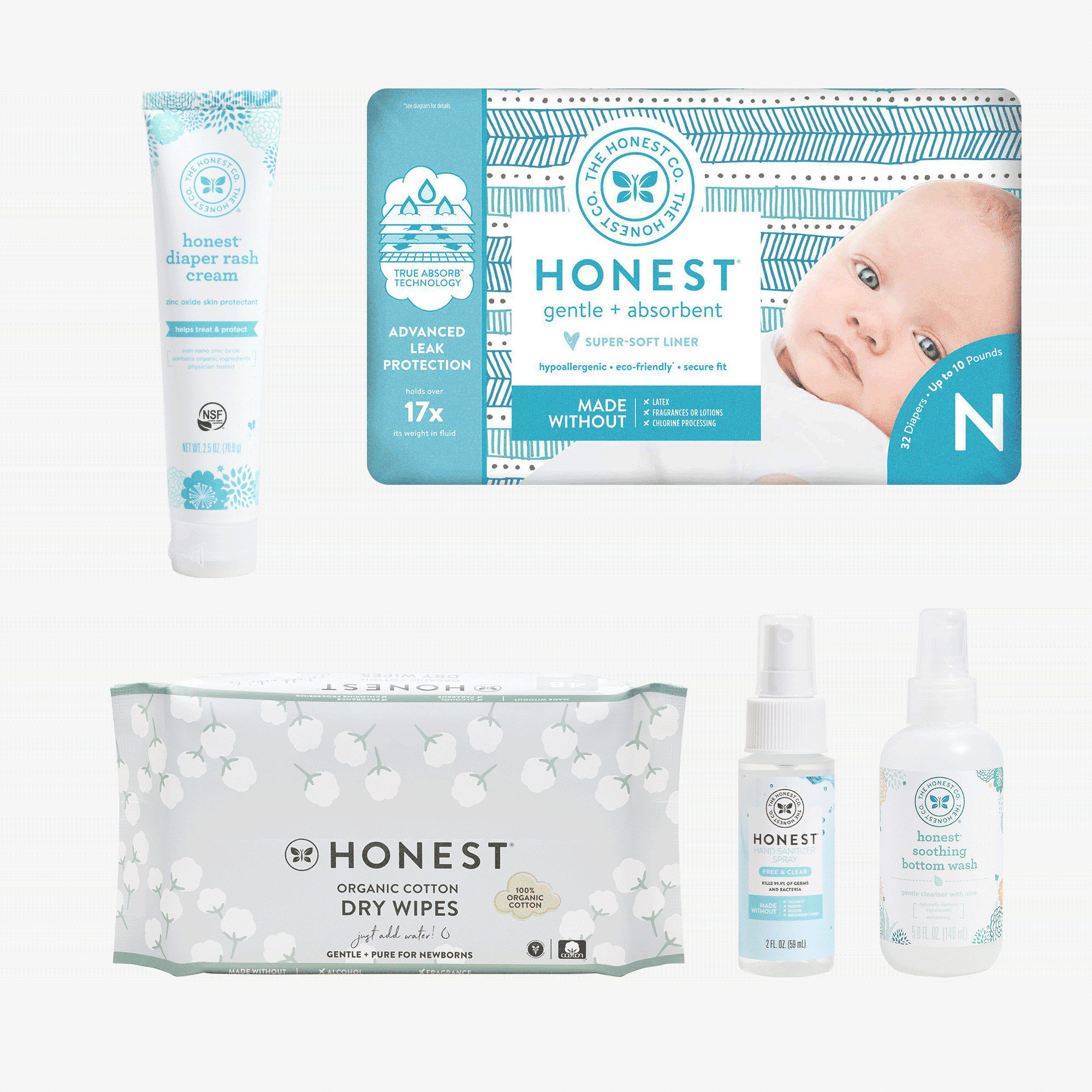 Welcome to the Fam Newborn Diaper Kit