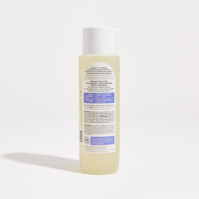 Back of Product, Lavender