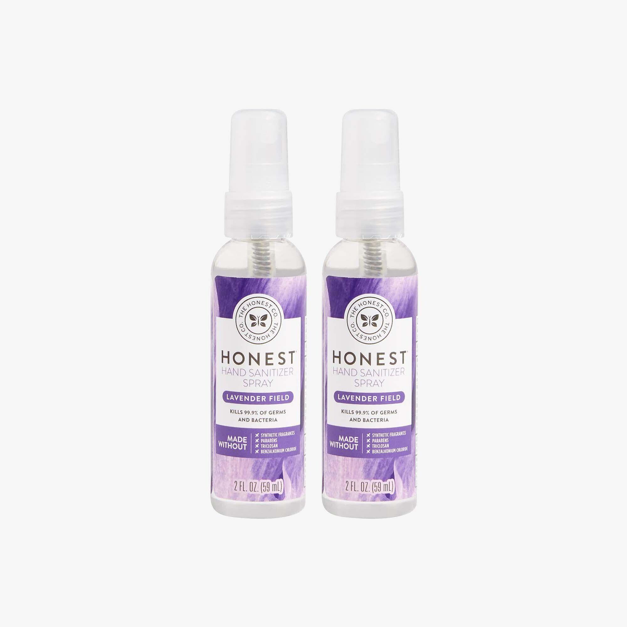 Hand Sanitizer Spray, Lavender Field, 2-Pack