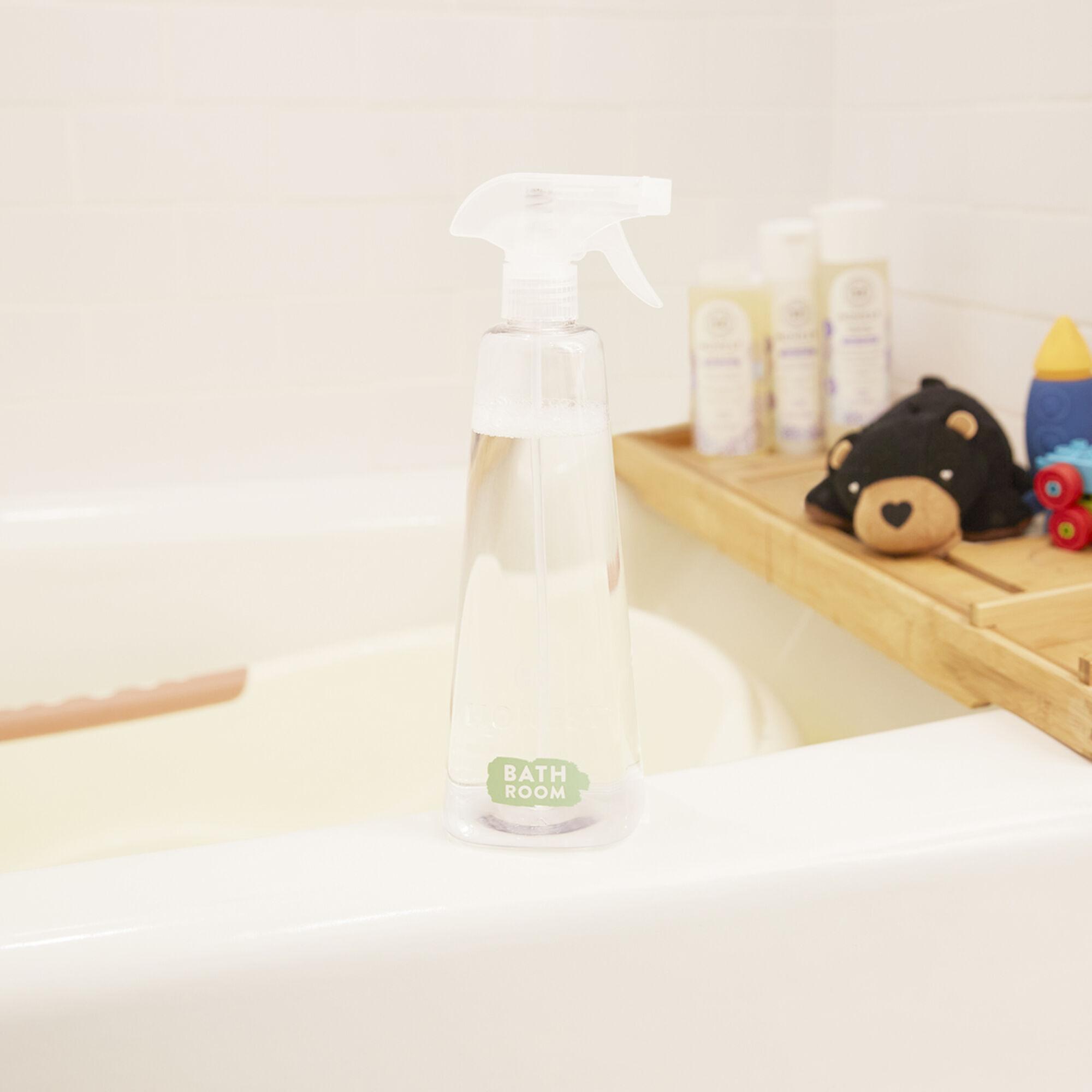Bathroom Refillable Cleaning Kit, Starter Set