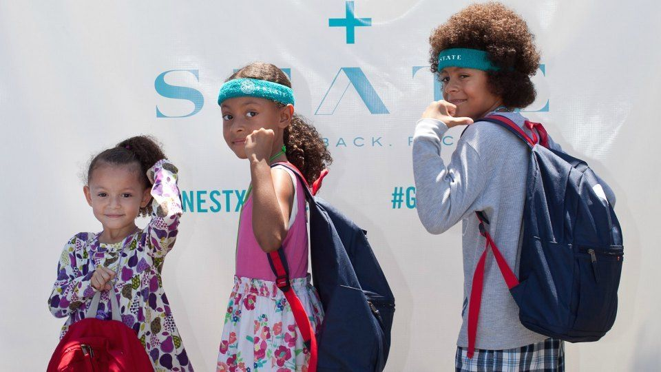 Honest gives away over 3000 Backpacks to Children