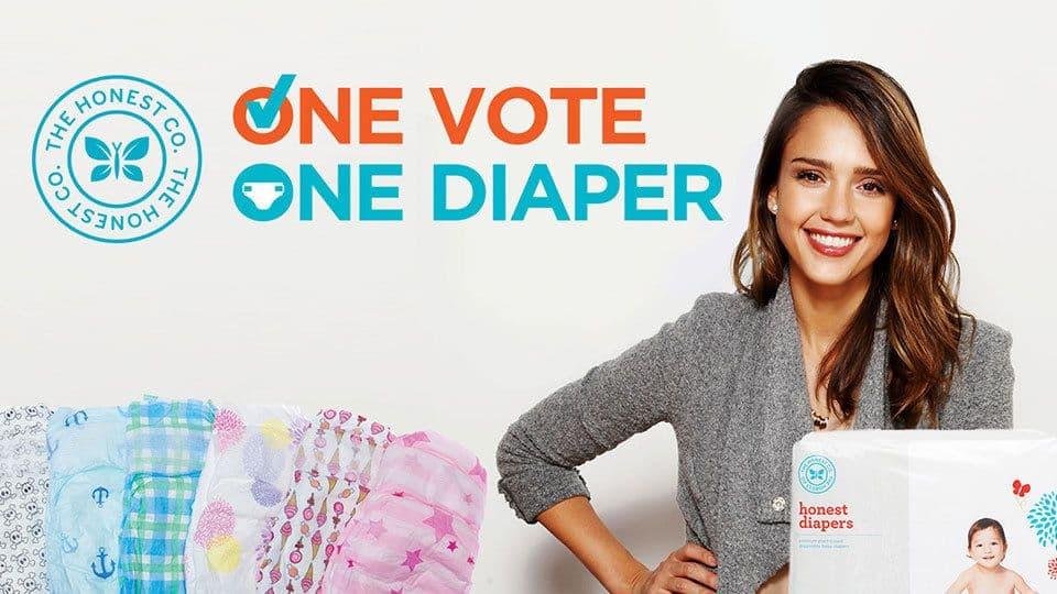 One Vote One Diaper