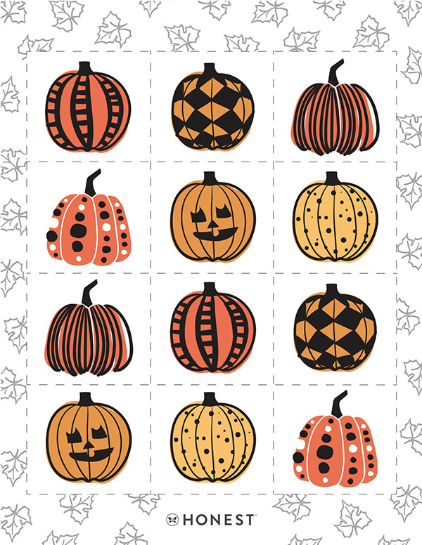 Download Our Pumpkin Patch Memory Game!
