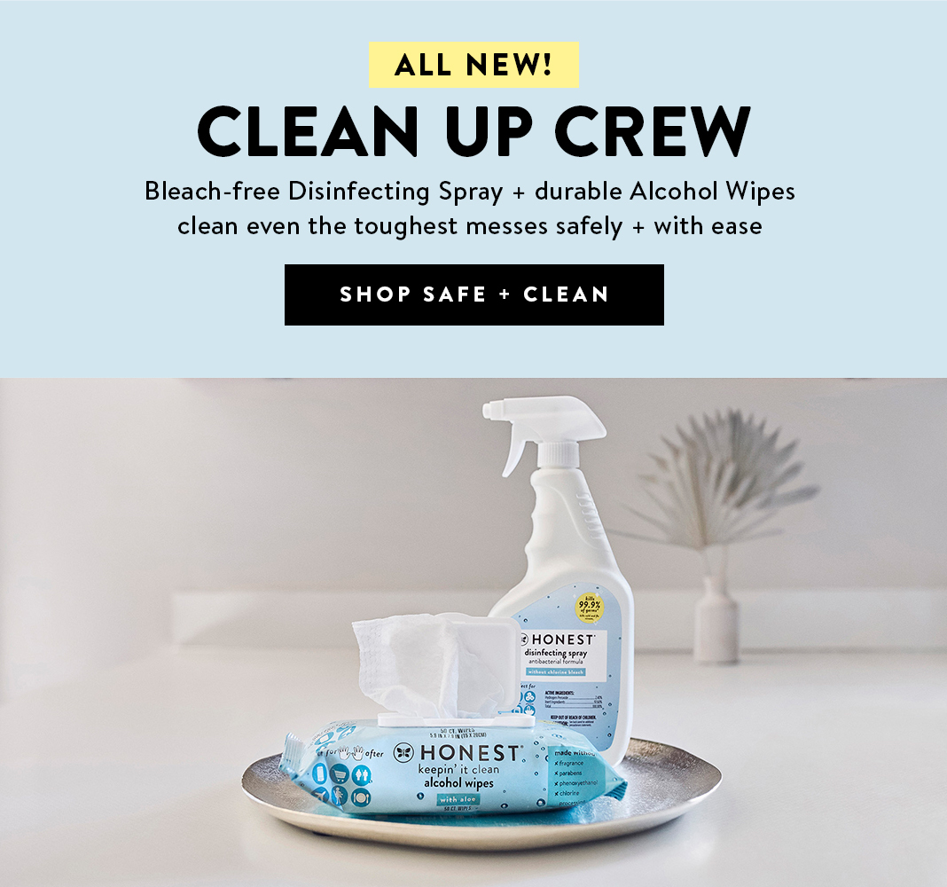 The Clean Up Crew. Shop Now