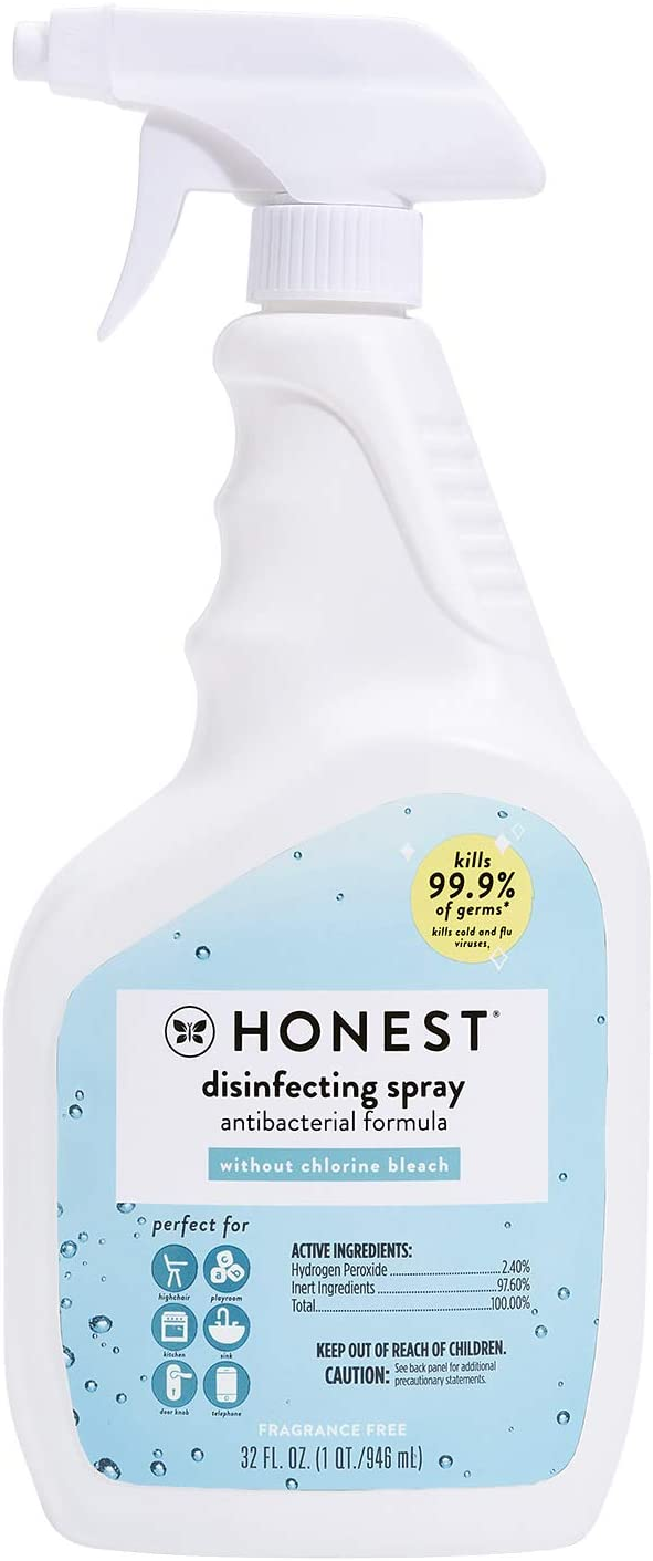 Disinfecting Spray Packaging Front