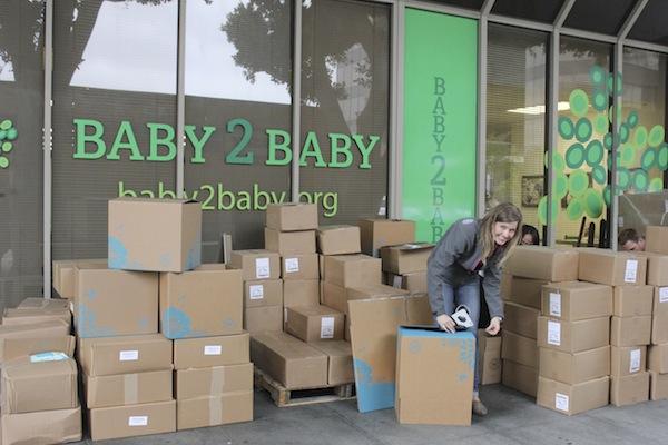 Honest Ashley Unloads Boxes