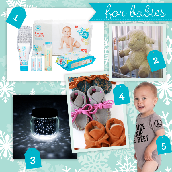 holiday gift guide: Babies