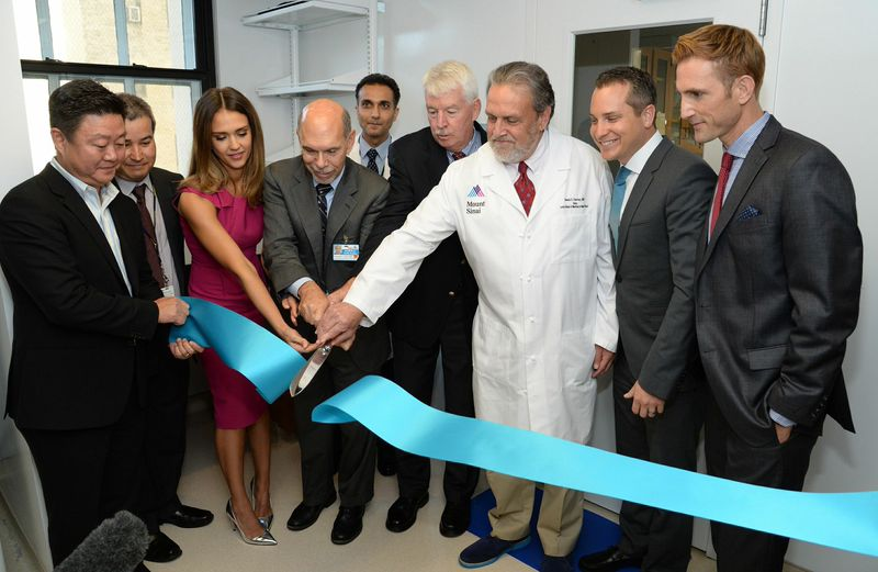 Cutting Ribbon for Ultra Clean Room