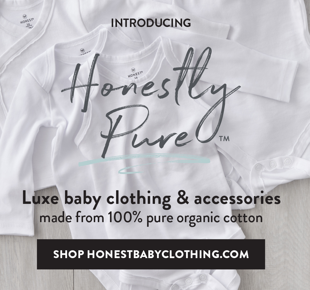 Honestly Pure. Luxe baby clothing and accessories made from 100 percent pure organic cotton. Visit HonestBabyClothing.com to Shop Now