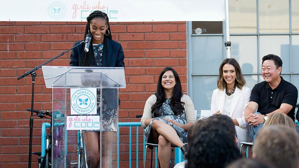 Girls Who Code Students Deliver Mission-Driven Final Projects