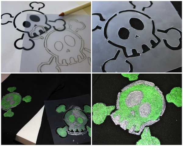 How to Make Skull and Crossbones Elbow or Knee Patches