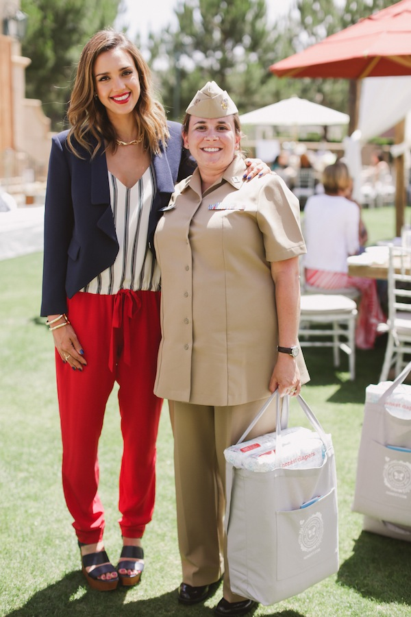 Jessica with Service Member and Mom
