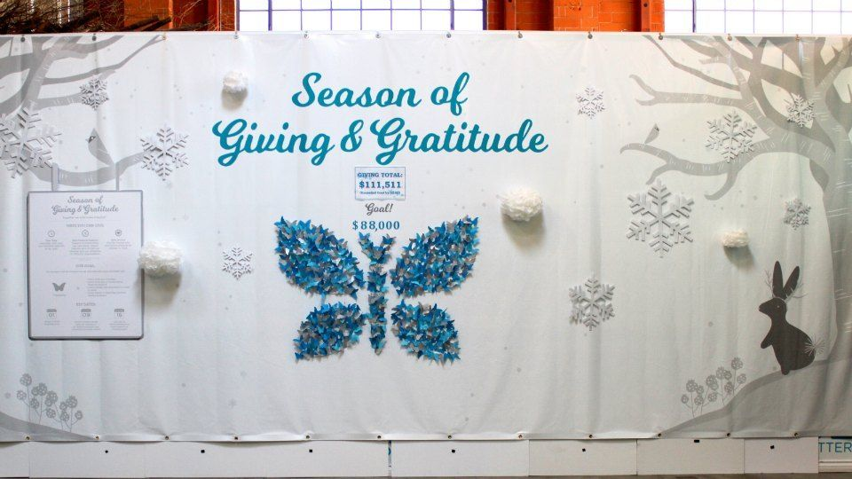 Season of Giving and Gratitude