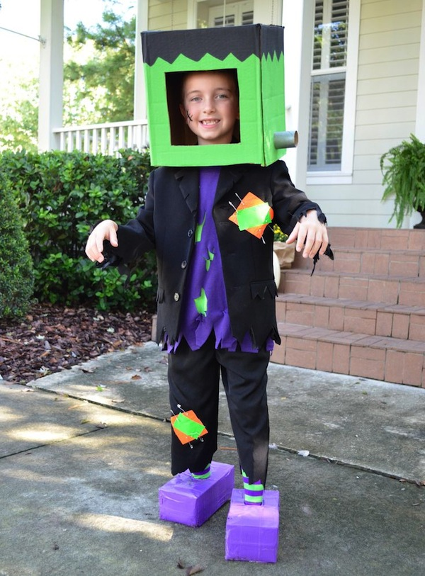 Monster Cardboard Box Costume from Scholastic