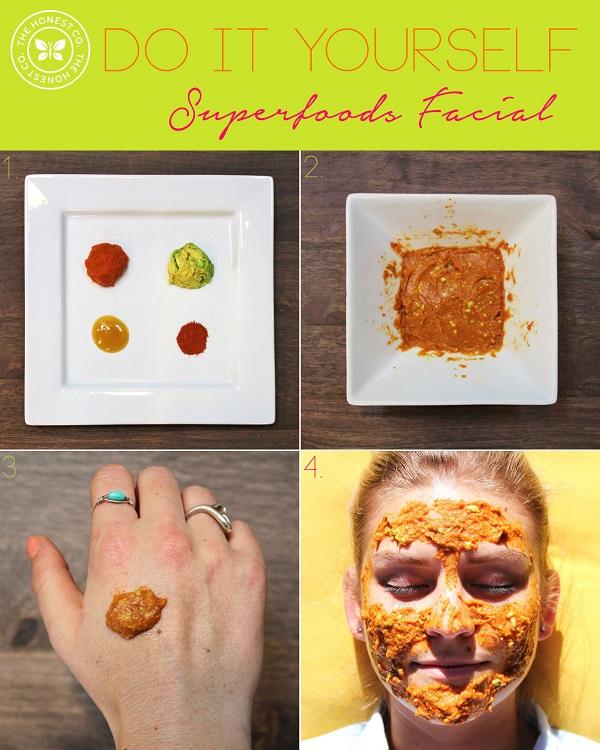 superfoods facial 4
