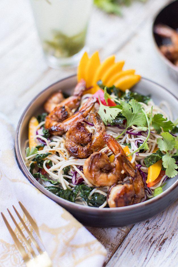 Summer Eats: Soba Salad with Shrimp
