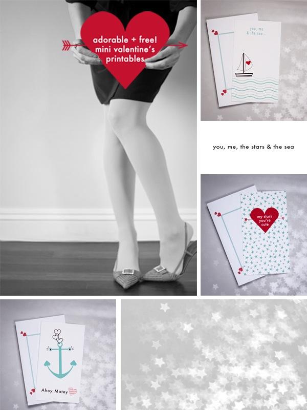 DIY Valentines Printables