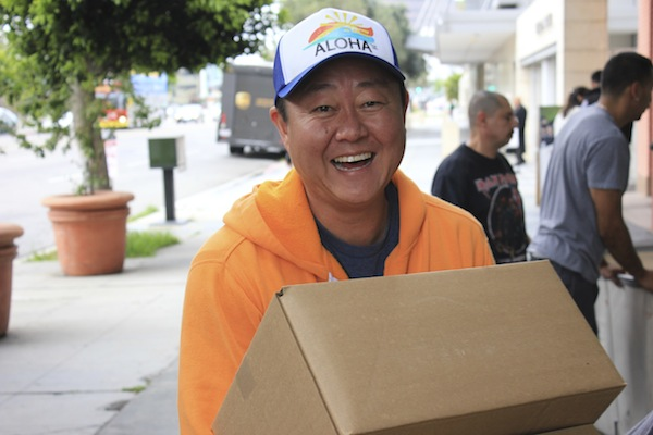 CEO Brian Lee Lends a Helping Hand