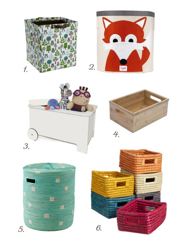 Stylish and Eco-Friendly Storage for Kids