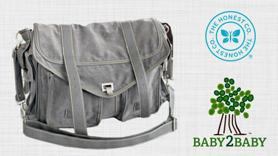 Diaper Bags donated for Baby2Baby Playdate